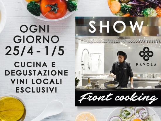 Favola front cooking show